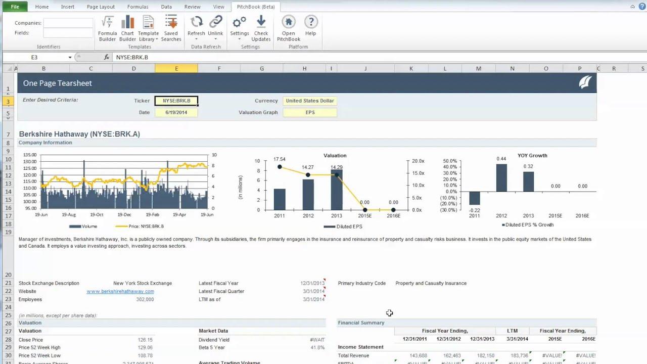 Excel Plugin: Finding Companies & Data Fields