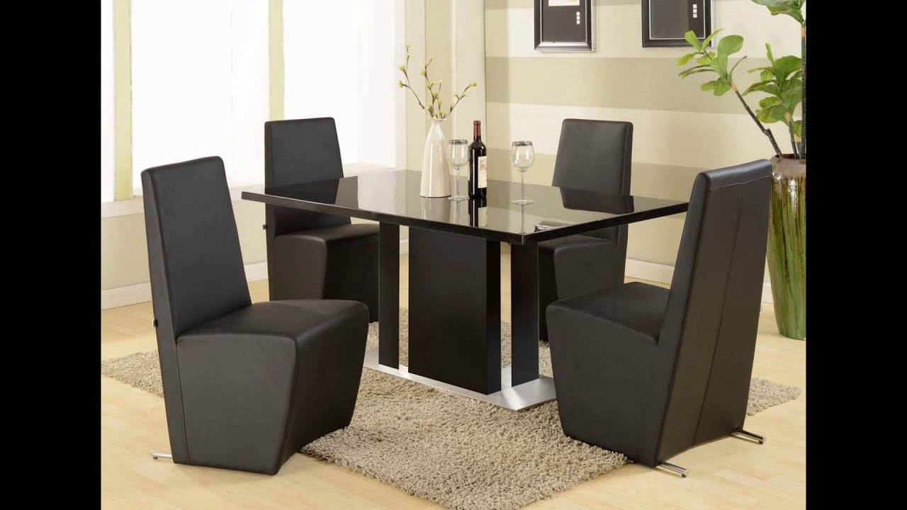 Modern Dining Room Sets | Modern Formal Dining Room Sets - YouTube