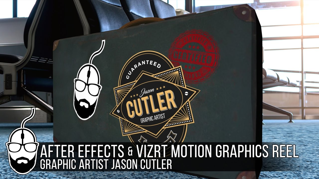 After Effects & Vizrt Motion Graphics Reel