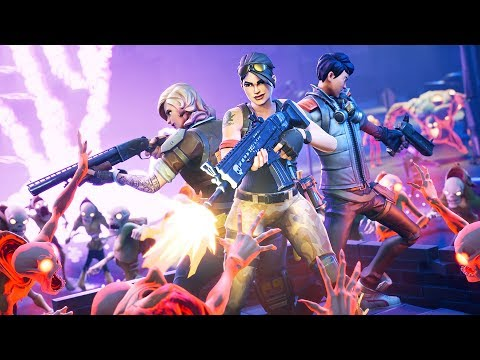 ZOMBIE APOCALYPSE!! (Fortnite Save the World)
