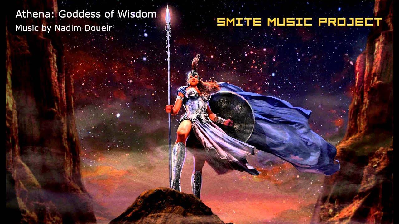 athena goddess of wisdom by nadim doueiri smite music project