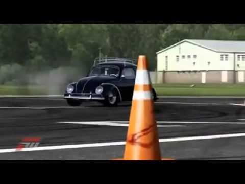 Insane Drift Vw Beetle This Guy Is Awsome Youtube
