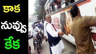సినిమా పోస్టర్ చించేసిన వీహెచ్ |  Arjun reddy Movie poster killed VH | Arjun reddy Movie |