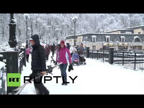 Russia: Sochi attracts record numbers of tourists over New Year holidays