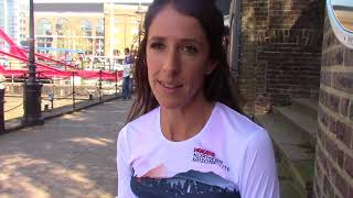 Stephanie Bruce looking to PR at 2018 London Marathon
