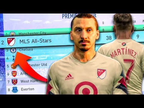 What If The MLS All-Stars Were In The Premier League! - FIFA 19 Career Mode