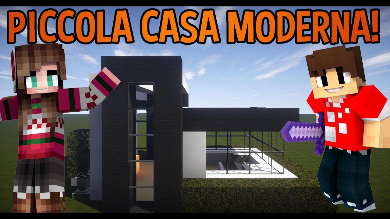 Come costruire una piccola casa moderna minecraft ita for Voglio costruire una piccola casa