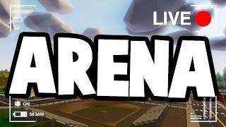 Unturned LIVE PvP ARENA Gameplay Stream! (Alpha Valley, PEI Arena, Washington Arena)
