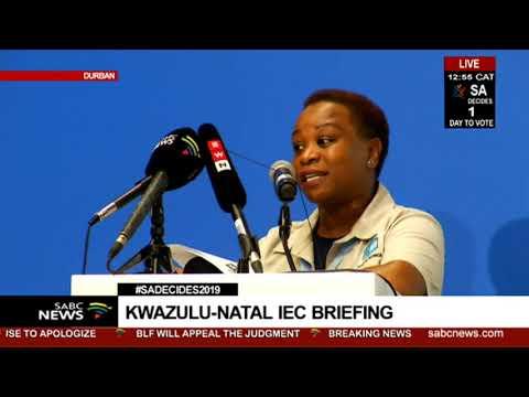 KwaZulu-Natal IEC Briefing