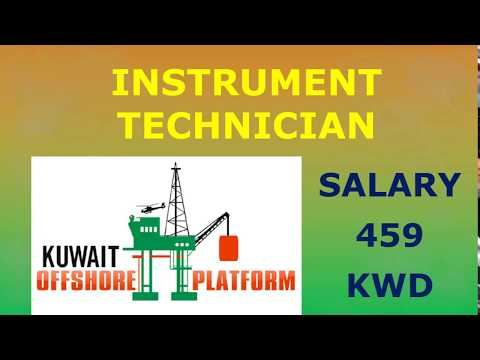KUWAIT OFFSHORE VACANCIES FOR INSTRUMENT TECHNICIAN