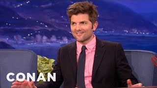Adam Scott Is A Movie Trivia Rainman - CONAN on TBS