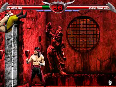 Mortal kombat shang tsung vs liu kang - photo#21