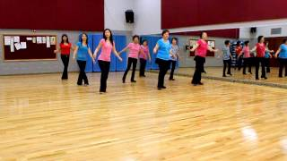 Dreamin Again - Line Dance (Dance & Teach in English & 中文)