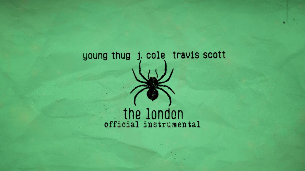 Young Thug - The London (ft. J. Cole & Travis Scott) [Official Instrumental] image