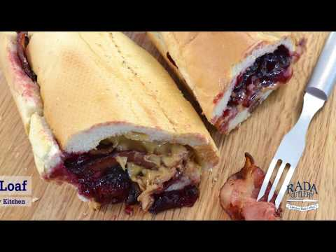 Bacon, Peanut Butter & Jelly Elvis' Fools' Gold Loaf Sandwich | RadaCutlery.com