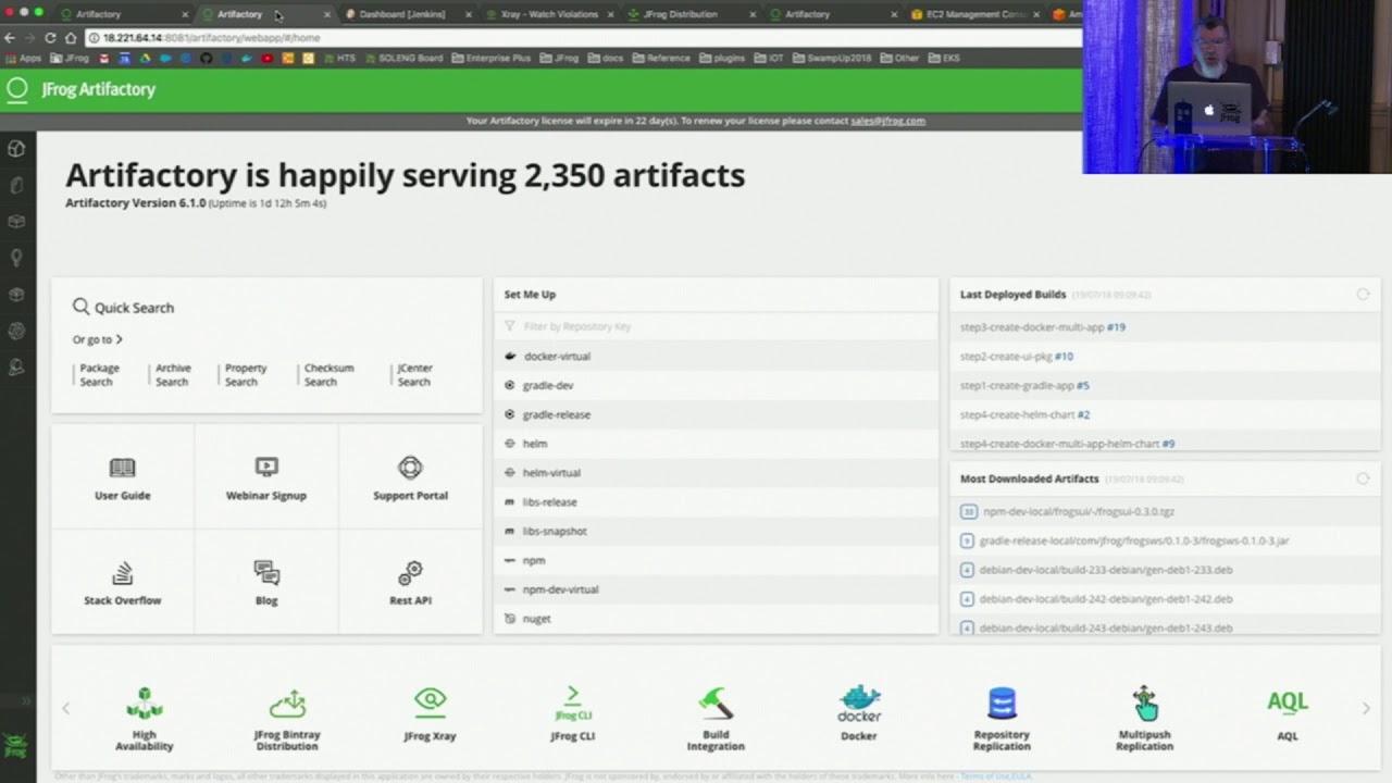 CI/CD Pipeline using JFrog Artifactory