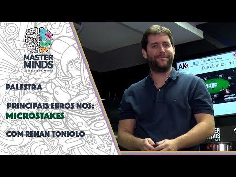 Master Minds 2018 - Palestra Sobre Principais Erros Nos Microstakes Com Renan Toniolo