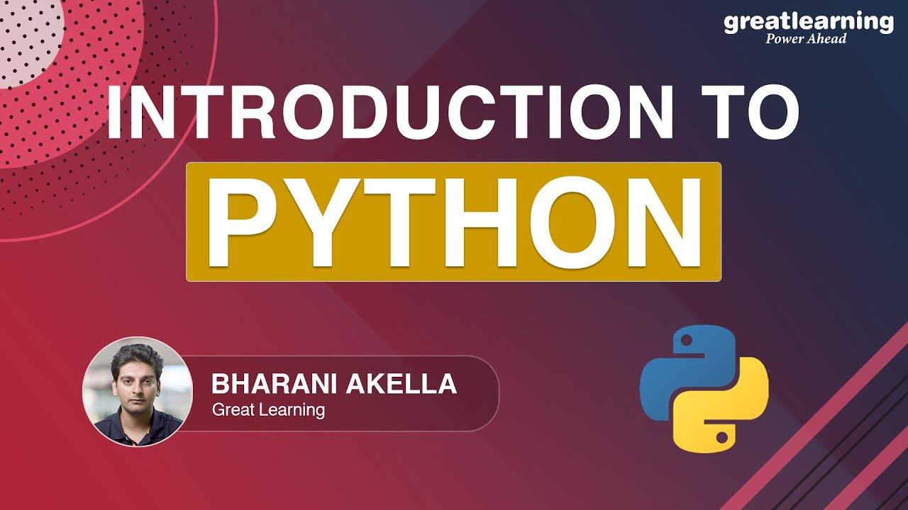 Introduction To Python | Python Fundamentals For Beginners