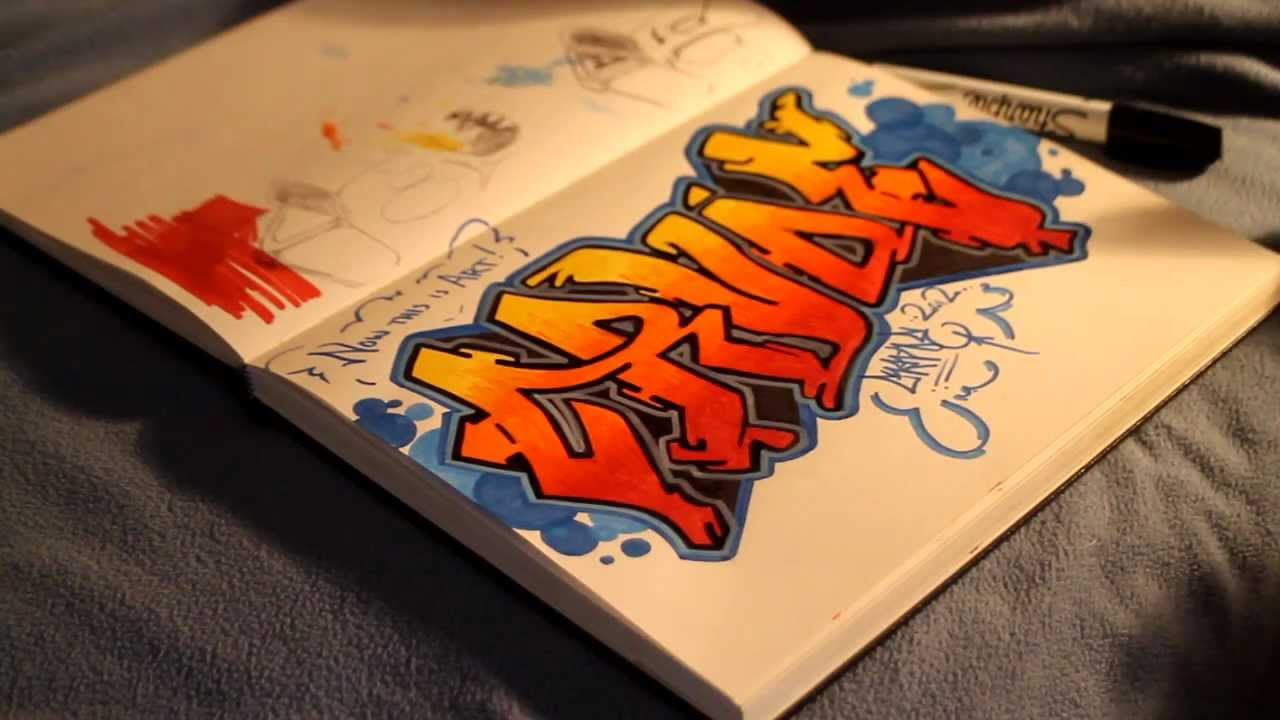 How To Draw Graffiti Pieces Youtube
