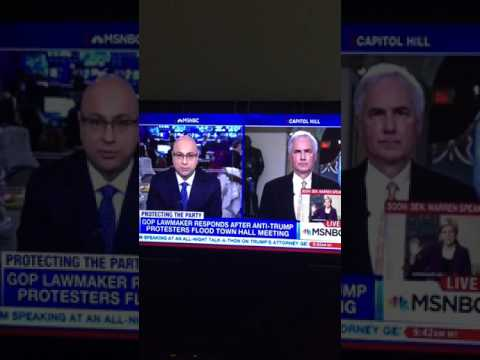 CA Rep. Tom McClintock on MSNBC 2/8/17