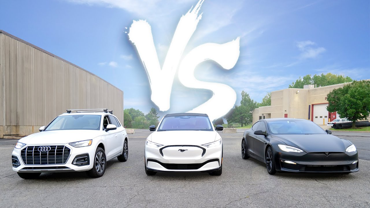 Driving 1000 Miles in 3 Cars: Gas vs Electric!