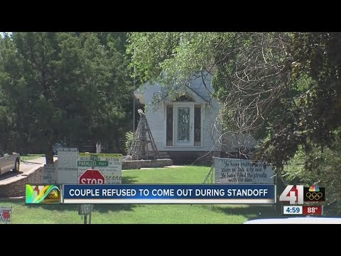 Police end standoff in Kansas City, Kansas