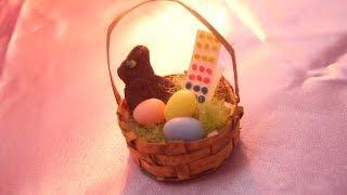 How To Make A Miniature Dollhouse Easter Basket