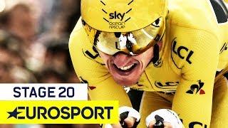 Geraint Thomas Wins the Tour after Sublime Time Trial! | Tour de France 2018 | Stage 20 Highlights