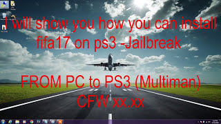 How to Install a Game to PS3, Multiman - FIFA 17 installation