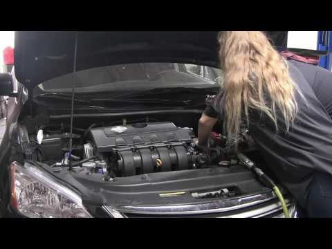 Nissan CVT Fluid Change with Basic Hand Tools | FunnyCat TV