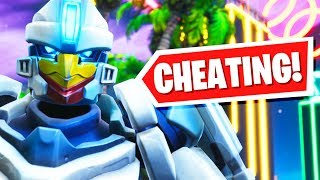 I Tried Cheating in a Driftboard Deathrun! - Fortnite Creative Mode Season 9 | Pungence