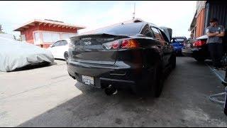 MY 900HP EVO X IS ALIVE! Street Pulls & Reactions