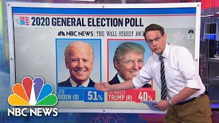 100 Days to Election Day: Can Biden Maintain Lead In Polls? | NBC News NOW