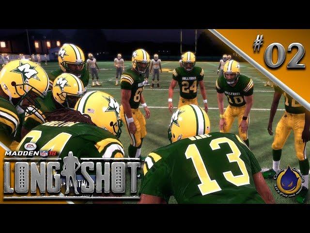 VERGANGENHEITSBEWÄLTIGUNG 🏈 Let's Play MADDEN NFL 18 LONGSHOT #02