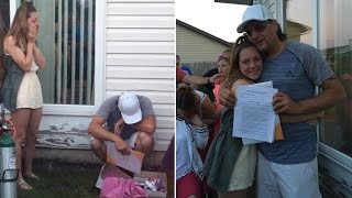 man breaks down in tears when girlfriend s daughter asks to be adopted by him