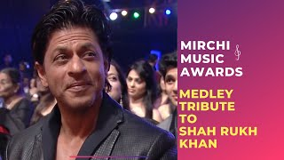 Romantic medley tribute to Shahrukh Khan by Bollywood Singers | Mirchi Music Awards | Radio Mirchi thumbnail