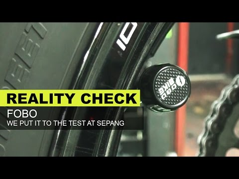 FOBO Tire Pressure Management System Reality Check At Sepang Circuit