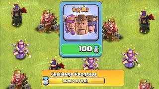 """KILL ALL HEROES CHALLENGE!! """"Clash Of Clans"""" MiNER TroLL!!"""