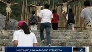"""Saksi: """"Holy Land"""" sa Benguet, pinakabagong atraksyon sa mga turista ngayong Semana Santa"""