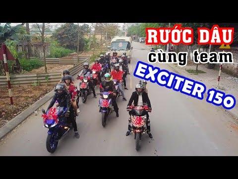 Hành trình rước dâu về Thái Nguyên cùng club Exciter 150 Touring Miền Bắc