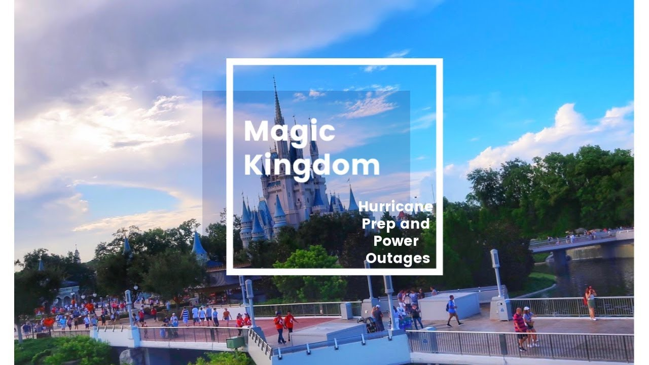 Hurricane Prep, Power Outages, and Fall Decorations | Magic Kingdom Aug   2019