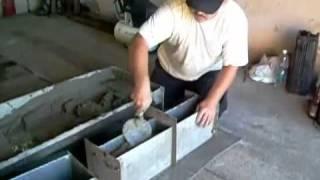Форма для шлакоблоков и бетонита своими руками