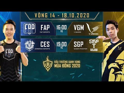 VGM, SGP kết thúc vòng bảng với chiến thắng 3-2 - Vòng 14 Ngày 2 - ĐTDV mùa Đông 2020