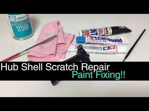 How To Fix Scratches On Bike Components!!