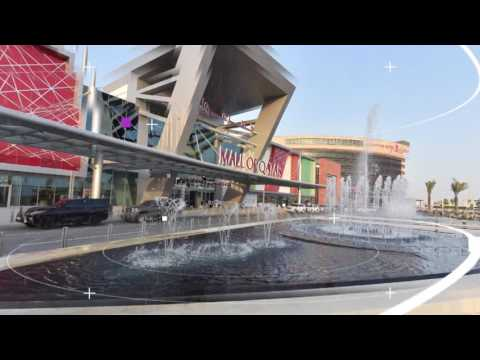 MALL OF QATAR  2016-  FACADE LIGHT BY JANO FOR LIGHTING