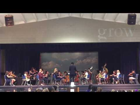 Pasadena Christian School: Chamber Orchestra in Easter Chapel