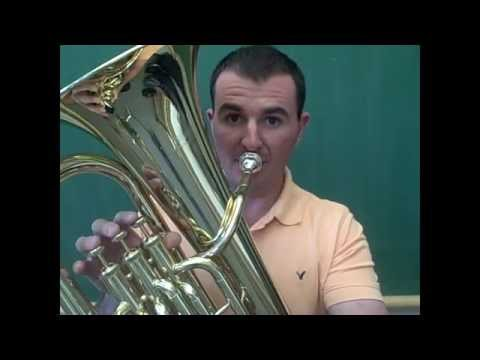 Baritone Horn - Playing The First Five Notes