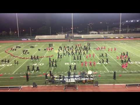 Mililani HS Marching Band & Color Guard || Leilehua Preview 2017