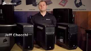 Introducing the Corsair Carbide SPEC line of PC gaming cases(Jeff Checchi gives a brief tour of the Corsair Carbide SPEC-01, SPEC-02, and SPEC-03 gaming PC cases. He also shows off a SPEC-02 system built with a ..., 2014-03-18T16:21:20.000Z)