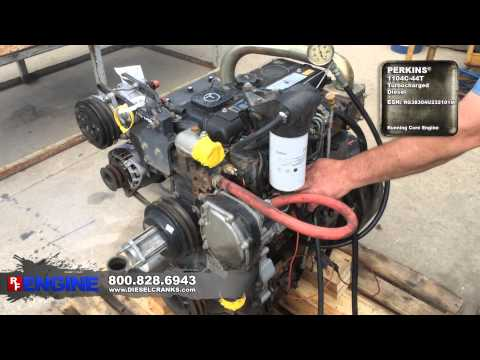 7516736GN | Perkins® 1104C-44T Complete Running Core - YouTube